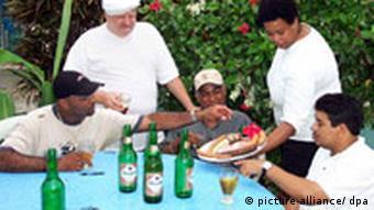 Мясник Эрих Байна из Германии живет в Доминиканской республике
