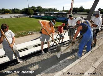 The Union fans are putting together the pieces for the clubs new stadium.