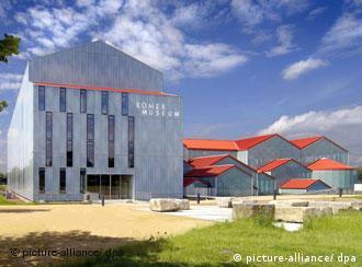 New Roman museum in Xanten
