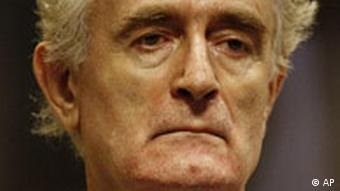 Radovan Karadžić pred Haškim tribunalom
