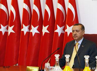 Recep Tayyip Erdogan (Archivfoto: AP)