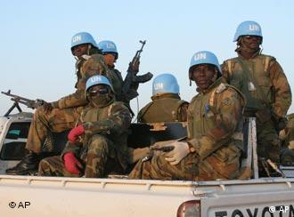 Nigerian peacekeepers in Sudan