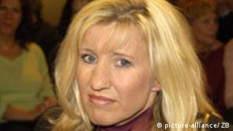 La escritora Ines Geipel durante la presentación de su libro