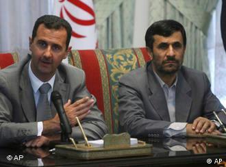روسای جمهورایران و سوریه عکس از آرشیو سال ۲۰۰۸