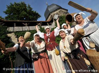 The stout Women of Kronach