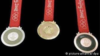 Medals of the Beijing Olympics
