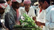 Handel mit Kat im Jemen