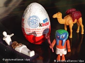 Школадные яйца с начинкой-сюрпризом пользуются популярностью во всем мире