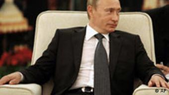 Wladimir Putin in China Reaktion auf Kriegsausbruch in Südossetien