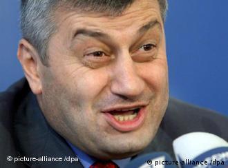 Лидер Южной Осетии Эдуард Кокойты