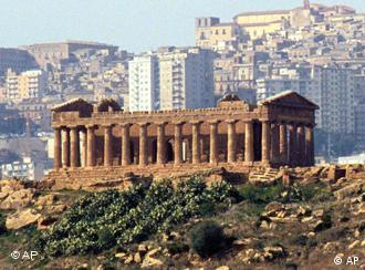 The ancient Greek Temple of Juno