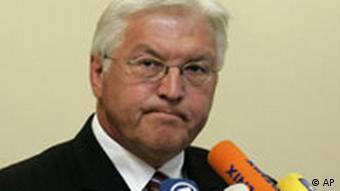 Bundesaussenminister Frank-Walter Steinmeier (AP Photo/Roberto Pfeil)