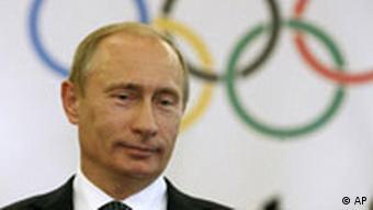 Vladimir Putin bei den Olympischen Spielen in Peking