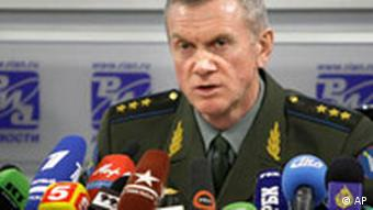 Russian Col. Gen. Anatoly Nogovitsyn, deputy chief of the General Staff of the Russian armed forces