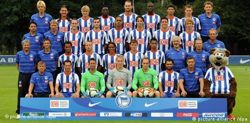 Momčad Herthe u sezoni 2008./2009.