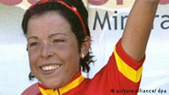 Spanish cyclist Maria Isabel Moreno tested positive for the blood booster EPO, making her the first doping offender in Olympic testing at the Beijing Games