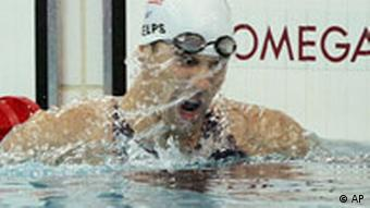 Olympia Peking Schwimmen USA Michael Phelps