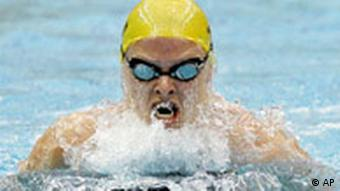 Australia's Leisel Jones swimming in Beijing