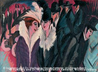 Ernst Ludwig Kirchner (1880-1938, Straße, Berlin, 1913). The Museum of Modern Art, New York. Purchase. Photograph by Ellen Page Wilson. © Ingeborg and Dr. Wolfgang Henze-Ketterer, Wichtrach/Bern