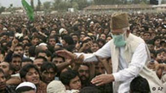 Hurriyat Conference leader Syed Ali Shah Geelani has called on Delhi to accept his five-point proposal