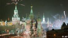 Milleniumswechsel in Moskau