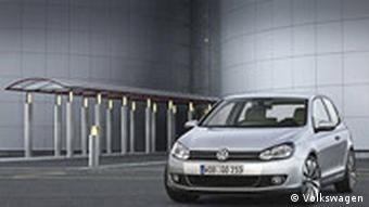 Deutschland Auto Der neue Volkswagen Golf