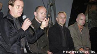 Members of the band Kraftwerk