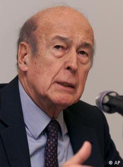 Valery Giscard d'Estaing preside a Convenção Européia
