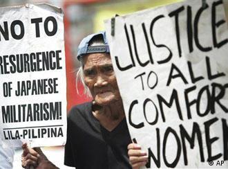 BdT Philippinen Japan Demonstration für Frauen