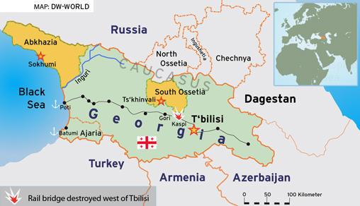 Where Is Tbilisi Georgia Map