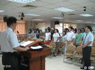 北京家庭教会举行周日弥撒