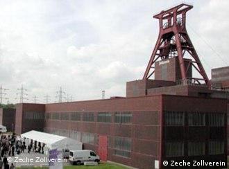 The monumental Zeche Zollverein