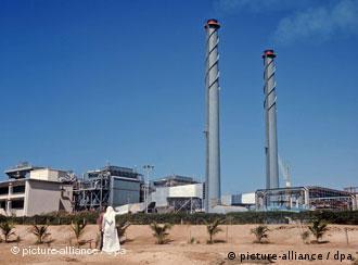 water desalination plant in Saudi Arabia