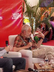 Mike Leigh Auf dm Filmfestival in Sarajevo 2008
