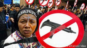 Kolumbien: Marsch gegen Gewalt