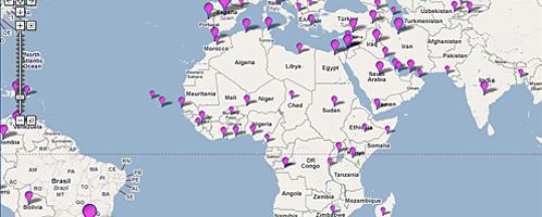 BOBs Blogmap Afrika