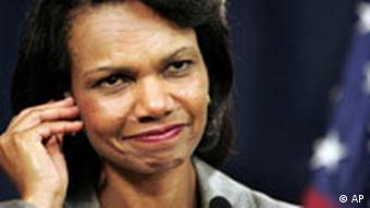 US-Außenministerin Condoleezza Rice (Quelle: AP)