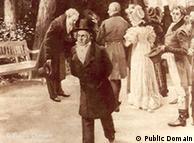Beethoven e Goethe encontram a família imperial em 1812