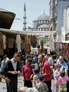 Street shot of Istanbul
