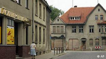 Deutschland Europa Bevölkerung Straße in Wirrstock