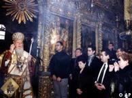 Natal ortodoxo em Istambul