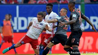 Bundesligaspiel Bayern München gegen Hamburger SV (Foto: Reuters)