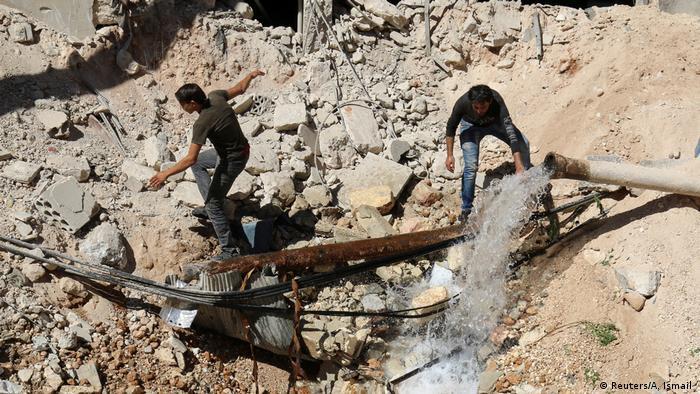 Syrien Aleppo Zerstörung (Reuters/A. Ismail )