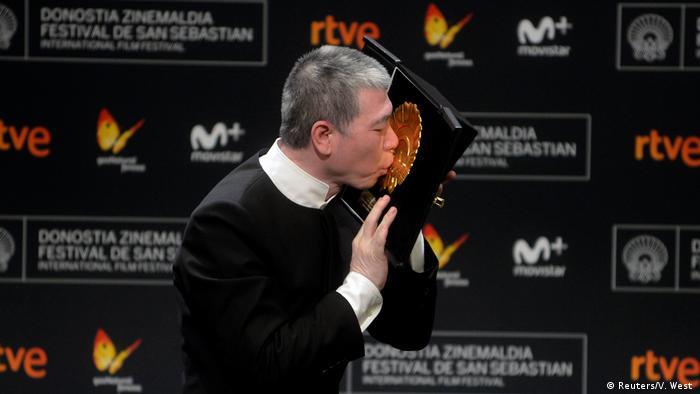 Director Feng Concha de Oro I Am Not Madame Bovary San Sebastian Film Festival (Reuters/V. West )