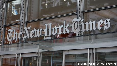 New York Times Gebäude (Getty Images/AFP/D. Emmert)
