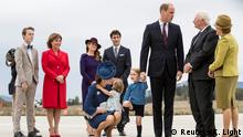 Prince William and family (Reuters/K. Light)