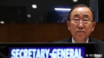 Ban Ki-moon UN Generalsekretär