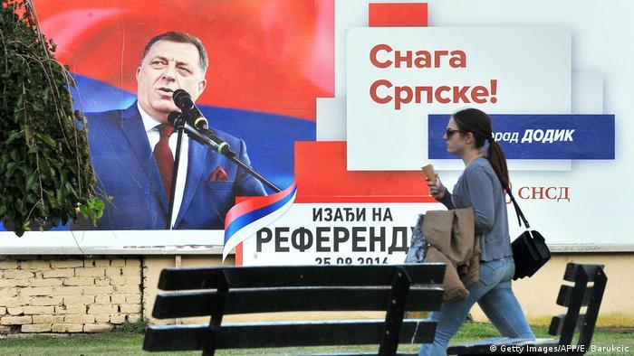 Bosnien Referendum Nationalfeiertag (Getty Images/AFP/E. Barukcic)