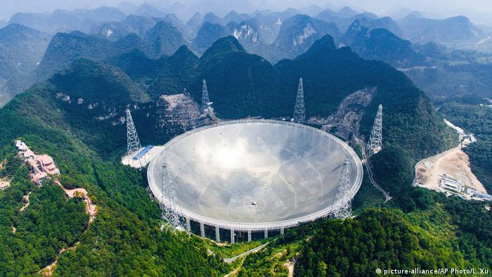 China weltgrößtes Radioteleskop