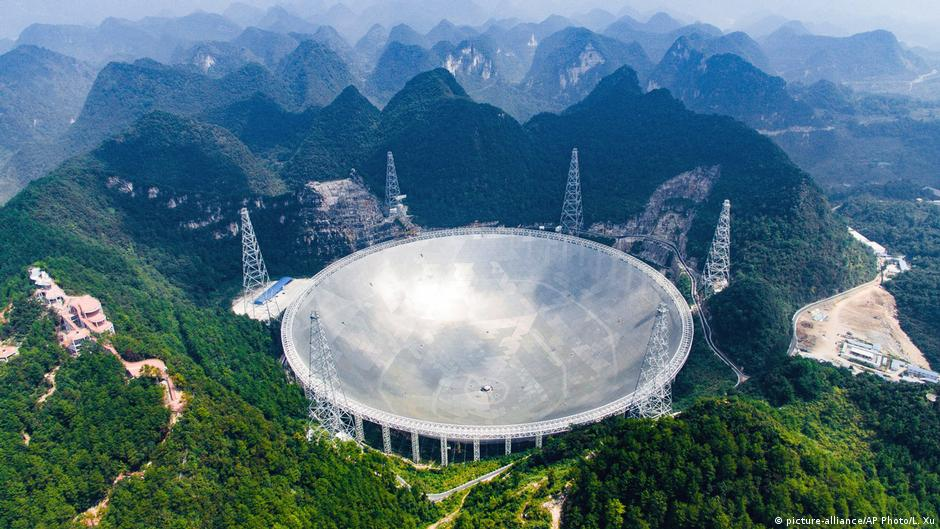 China inaugura maior radiotelescópio do mundo